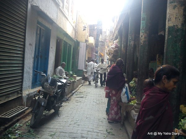 The Narrow lanes of Varanasi
