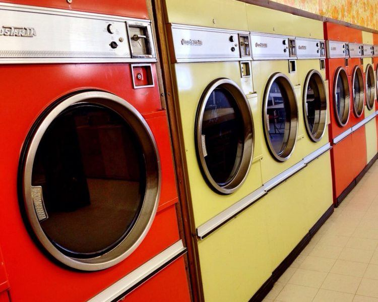 Laundromats can be a good option for washing your clothes while travelling -- but they can be hard to find.