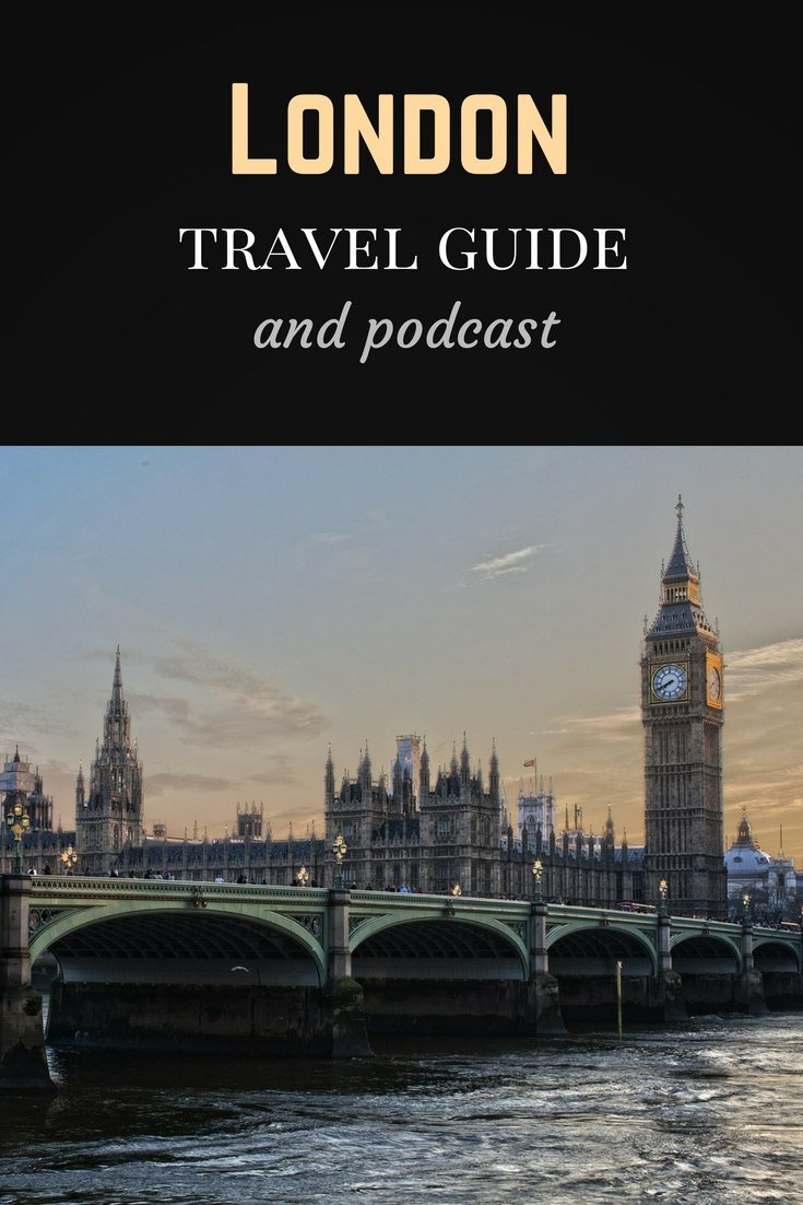 London travel guide Pinterest pin