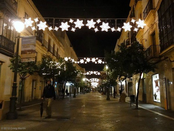 Jerez Christmas lights.