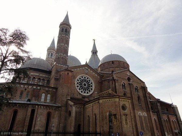 The Basilica of St Anthony, Padova. Worth a visit inside!