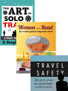 Solo travel books