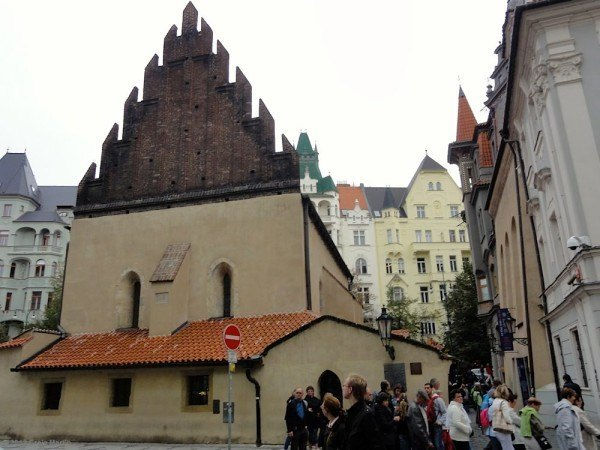 The Old-New Synagogue.