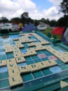 Scrabble's a good game if you and your opponent are well-matched.