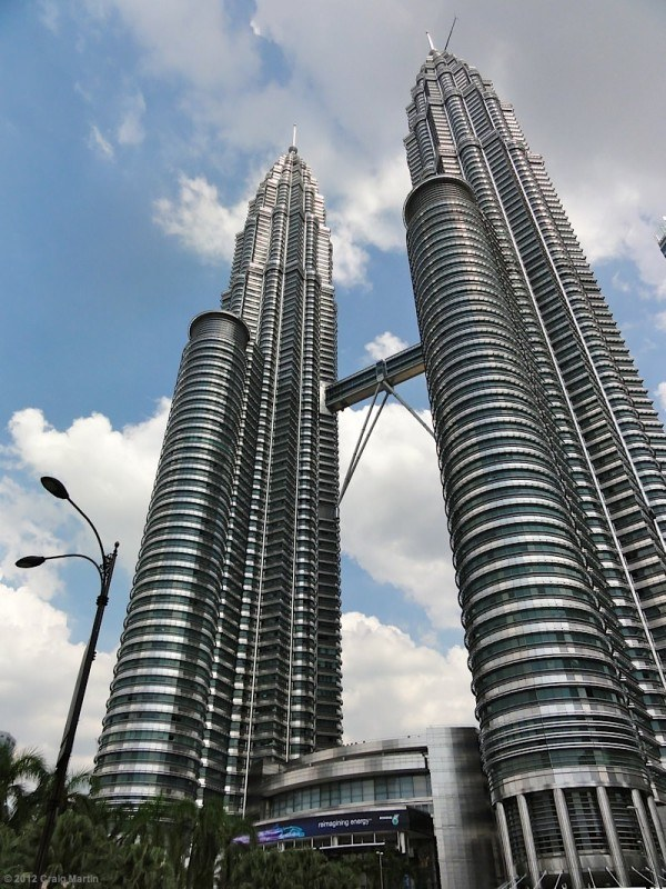 The Petronus Towers are KL's famous landmark, but when I think of KL, I think of...