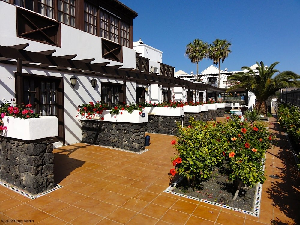 Our apartment in Lanzarote.