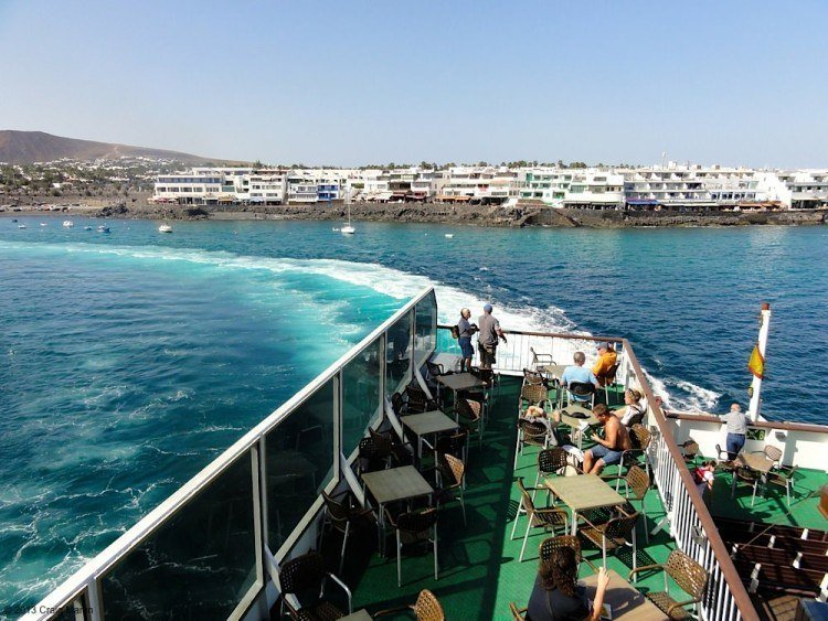 Ferry to Fuerteventura