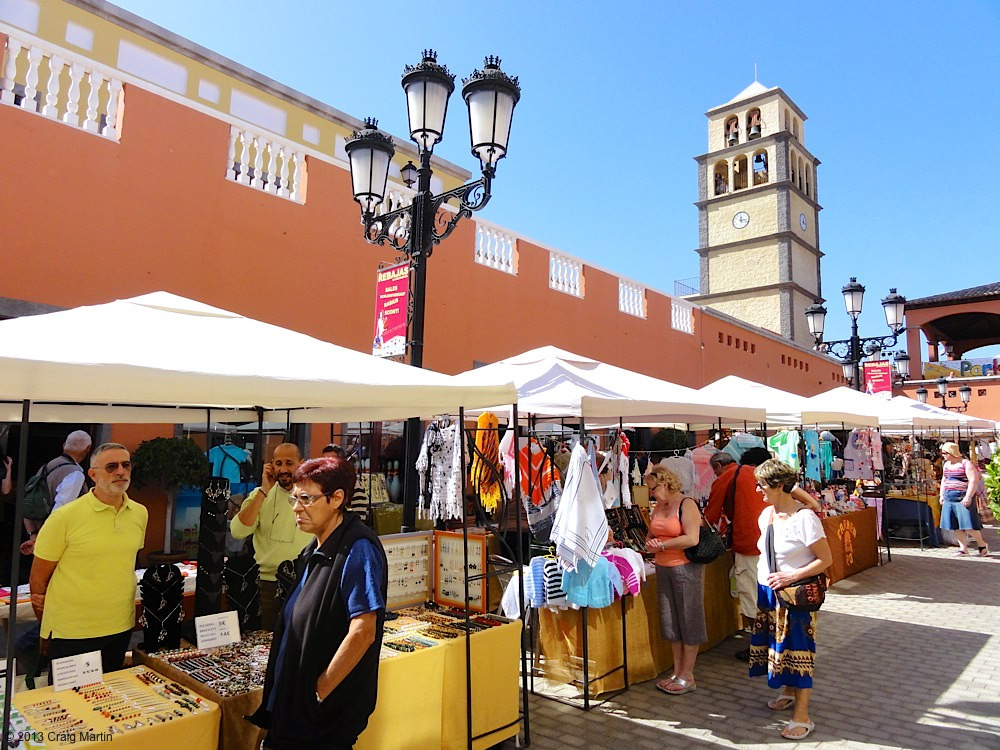 Handcraft market in Corralejo.