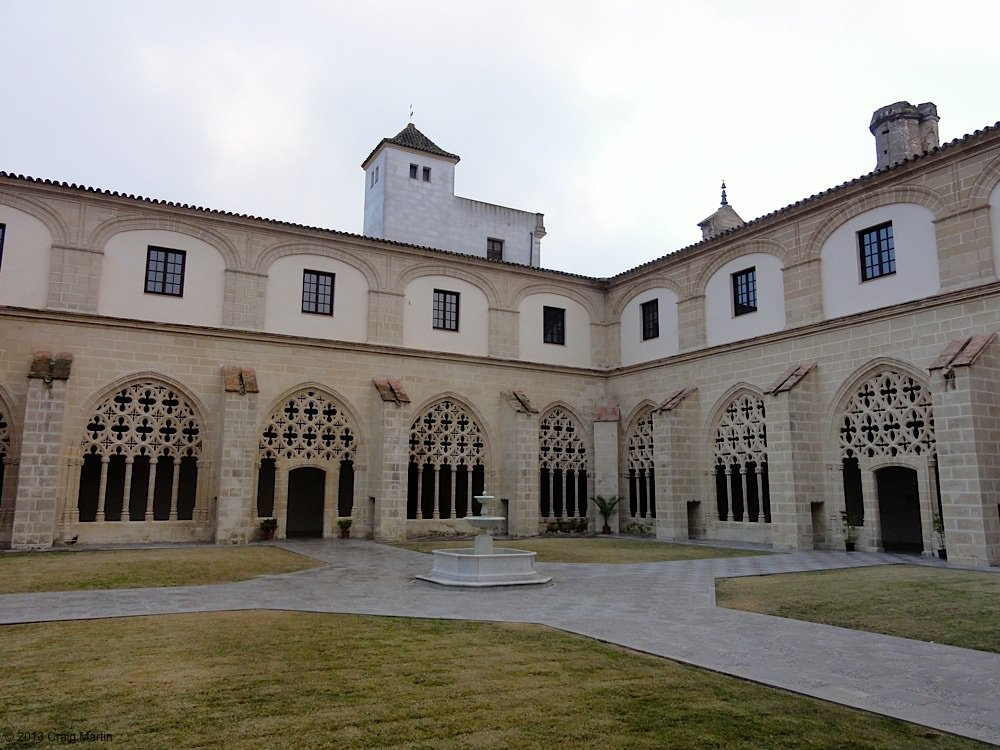 The Santo Domingo cloisters.