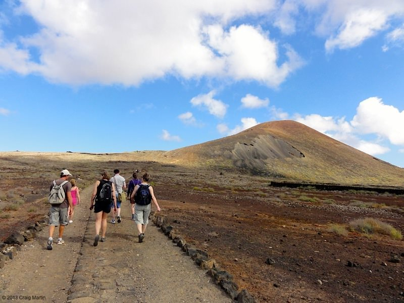 Fuerteventura calderon hondo volcano hike canary islands spain 11
