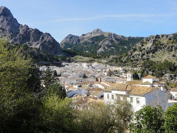 Grazalema, one of the pueblos blancos.