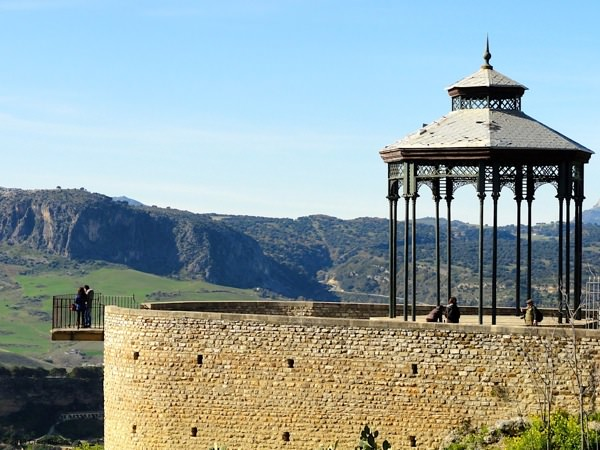 Things to do andalusia  ronda lookout