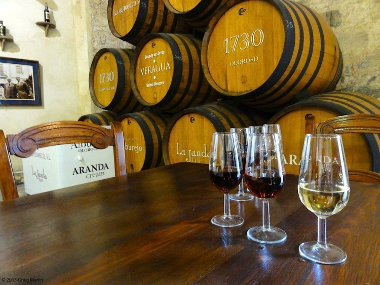 Wine tasting Jerez Spain
