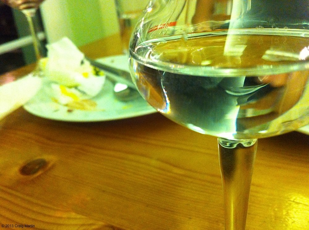 There's nothing like schnapps to finish a meal with.