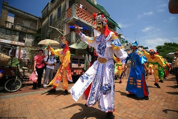 Cheung Chau festival.