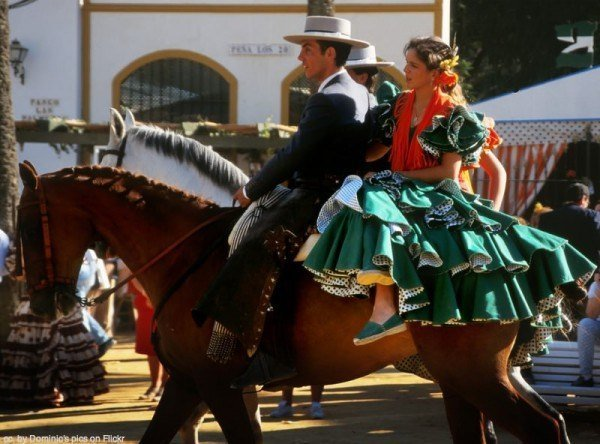 The Jerez horse fair.