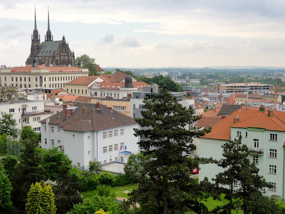 View from the fortress complex in Brno.