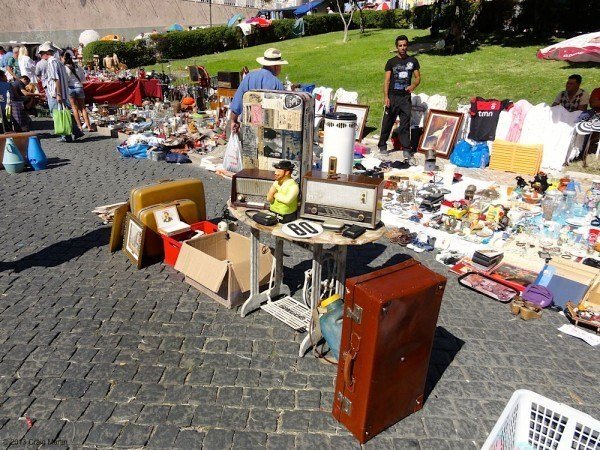 Just one of many Lisbon markets.