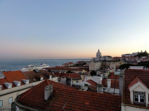 Lisbon is best viewed from above.