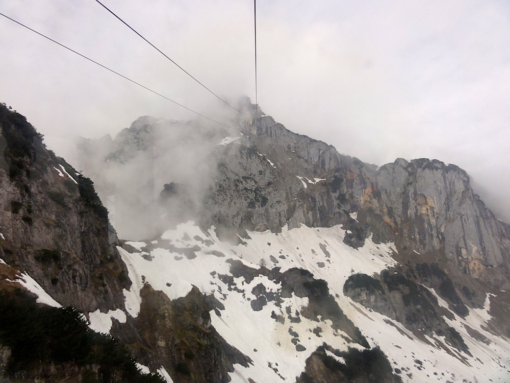 Try to visit the Untersberg on a clear day!