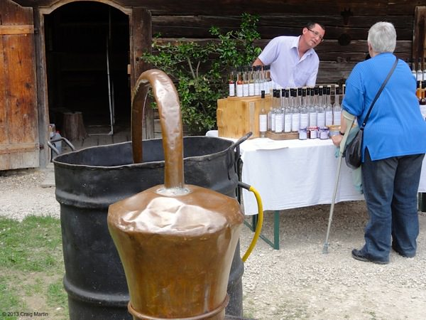 Spirits and distilled and sold at one farmhouse