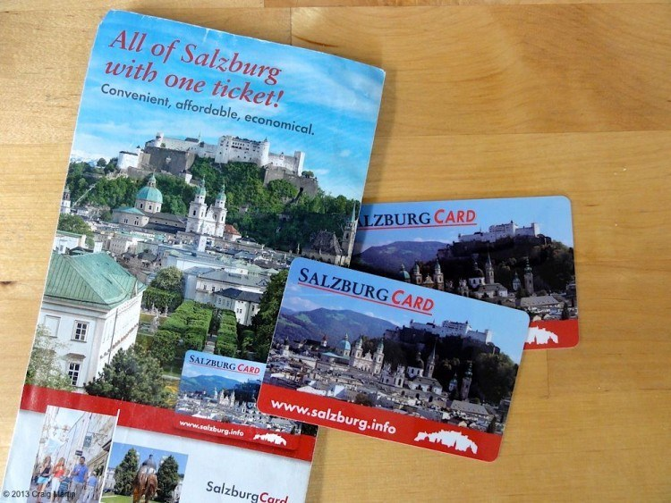 A Salzburg Card could be a good investment.