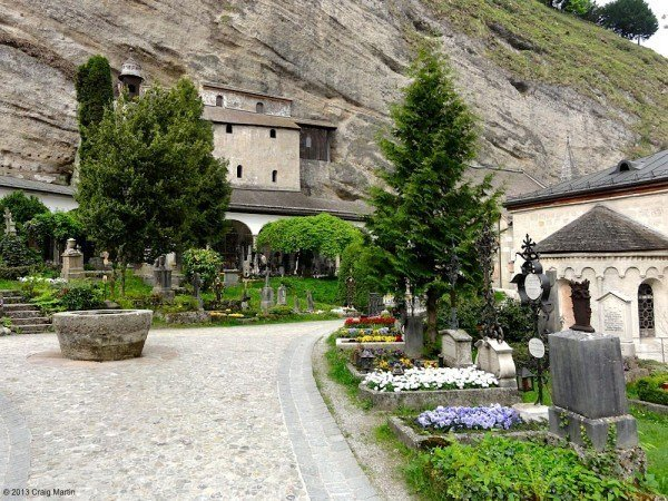 The hermits caves, known as the Catacombs