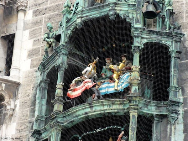 And the glockenspiel plays at 11am, 12am, and 5pm during summer.