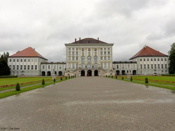 The Nymphenburg Palace is pretty from the outside...