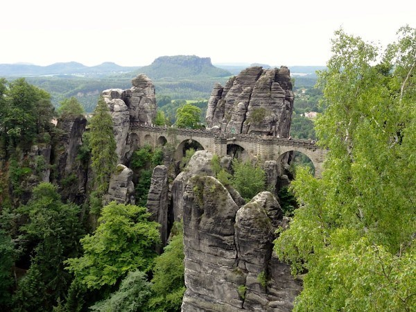 The stunning medieval fortress is all the better after a hike through the forests.