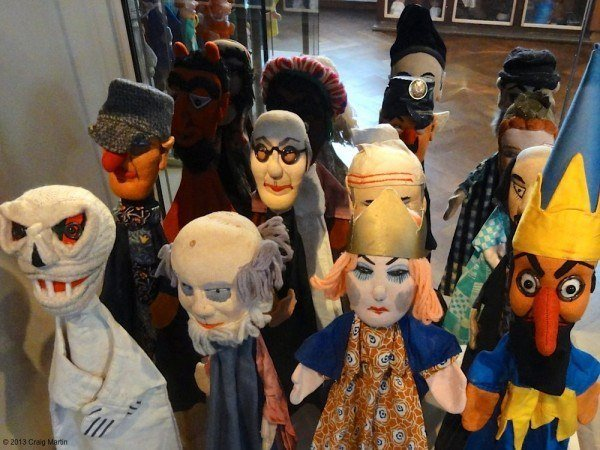 Just beware the puppet army. Scarier than zombies.