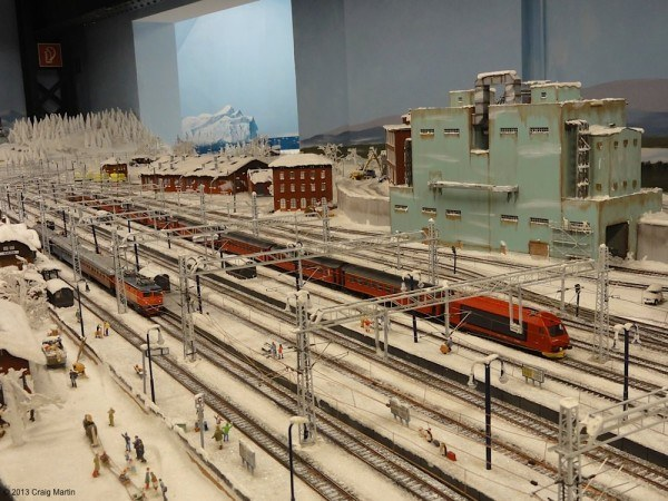 The Miniatur Wunderland is a star attraction: over 1 million visitors per year for this huge (two story!) model.