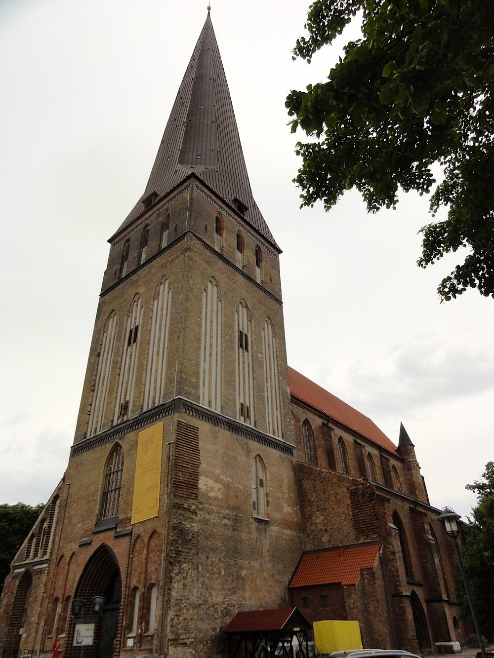 And made our way to the Petrikirke: over 200 steps to the top.