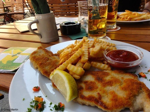 We ate for €8.88 in Weisse Gasse