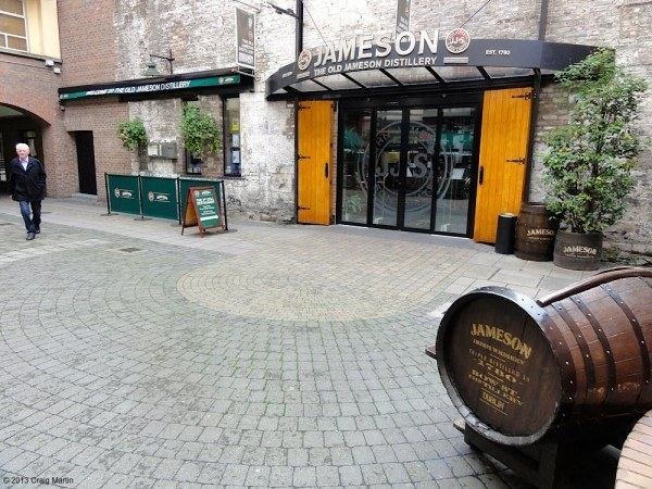 Old Jamesons Distillery.