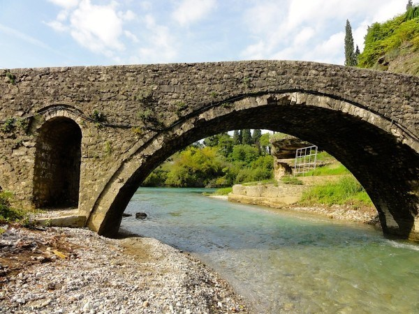 This cute bridge in Podgorica's oldest area was also worth seeing.