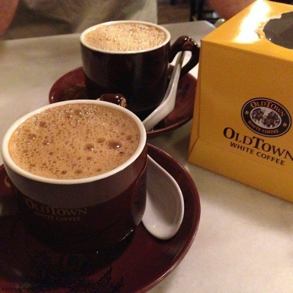 Old Town White Coffee.