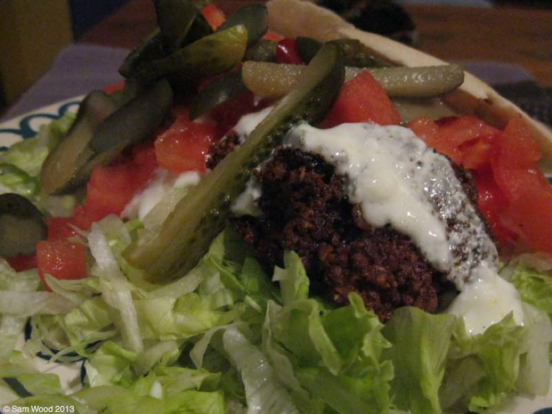 Vegetarian food in Chile? Inconceivable!