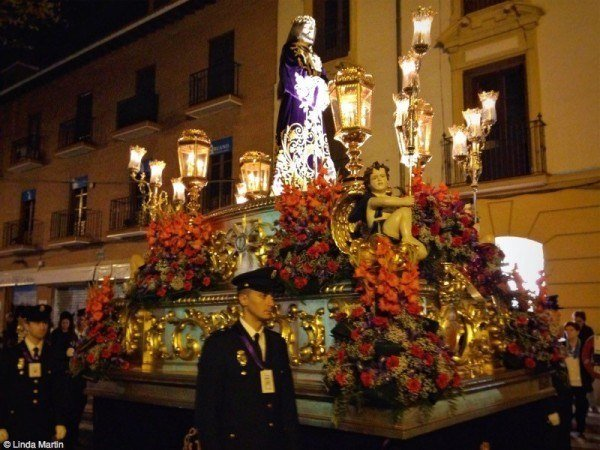 Good Friday procession in Alcalá de Henares.