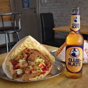 Berlin in a day -- have a kebab and club mate
