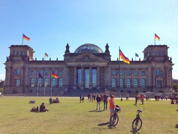 Berlin in a day -- start at the Reichstag