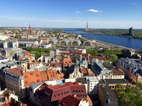 Riga from above.
