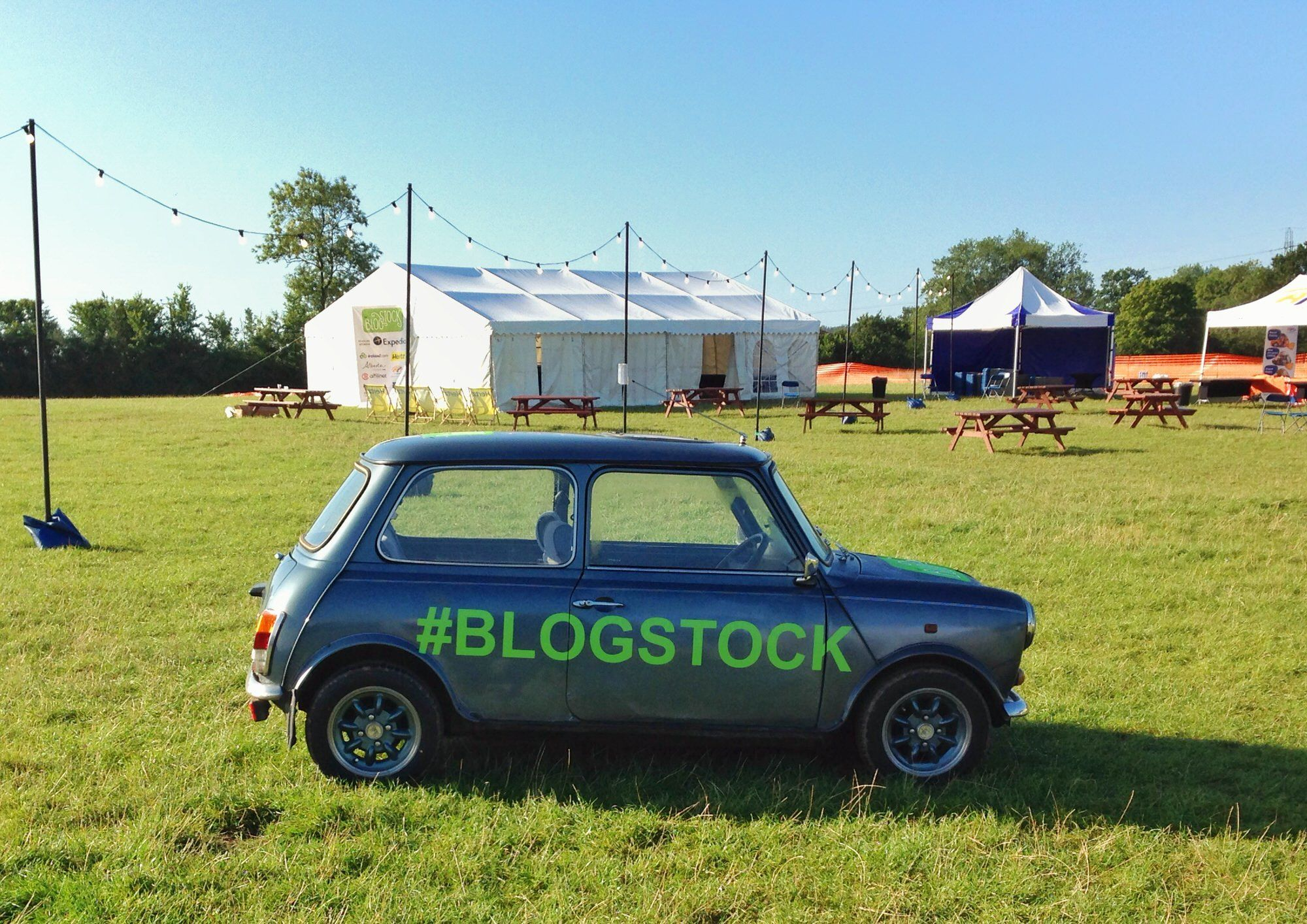 Blogstock festival near London UK