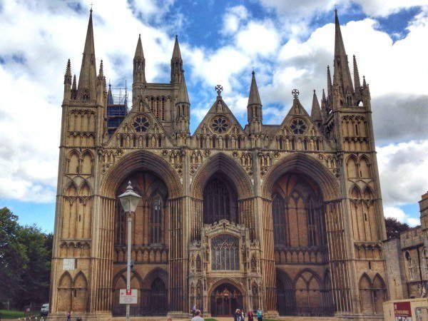 Cathedral in Peterborough UK