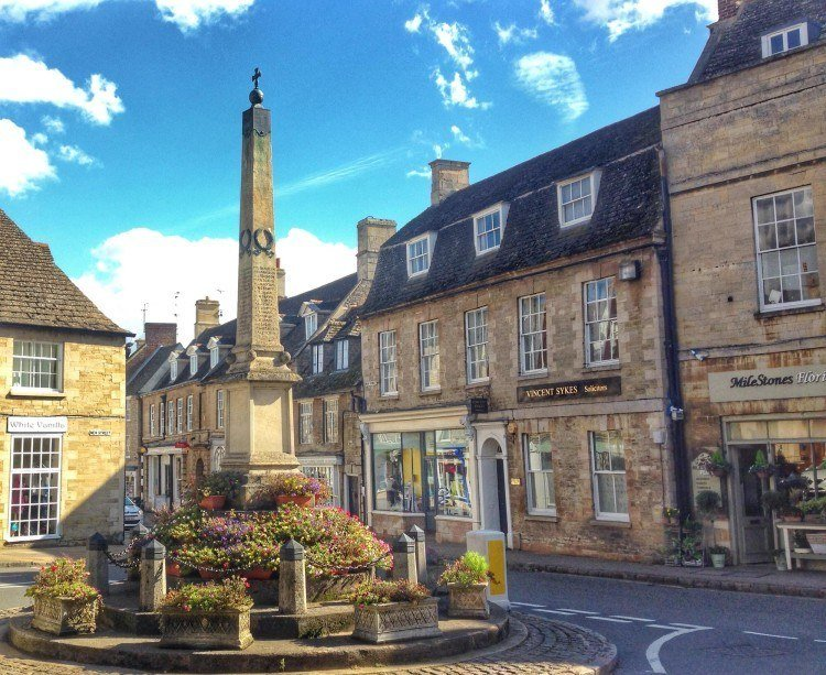 Oundle war memorial in Oundle UK