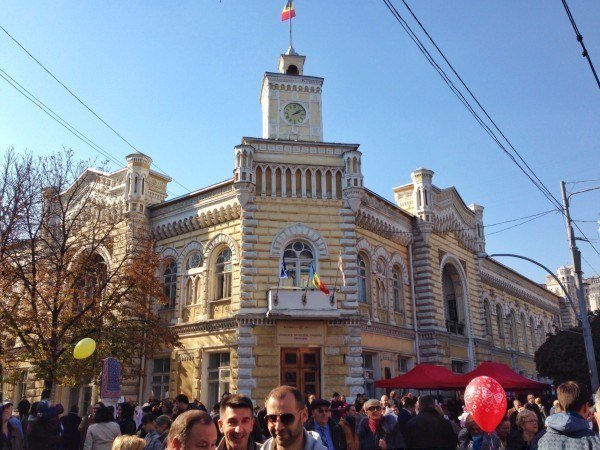 Chisinau city day in Moldova.
