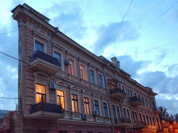 The flat house is a must-visit in Odessa.