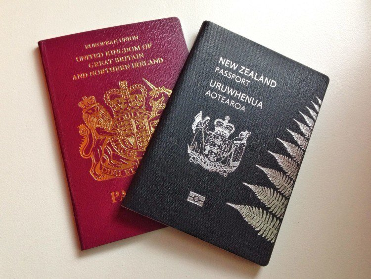 Craig's in charge of our passports!