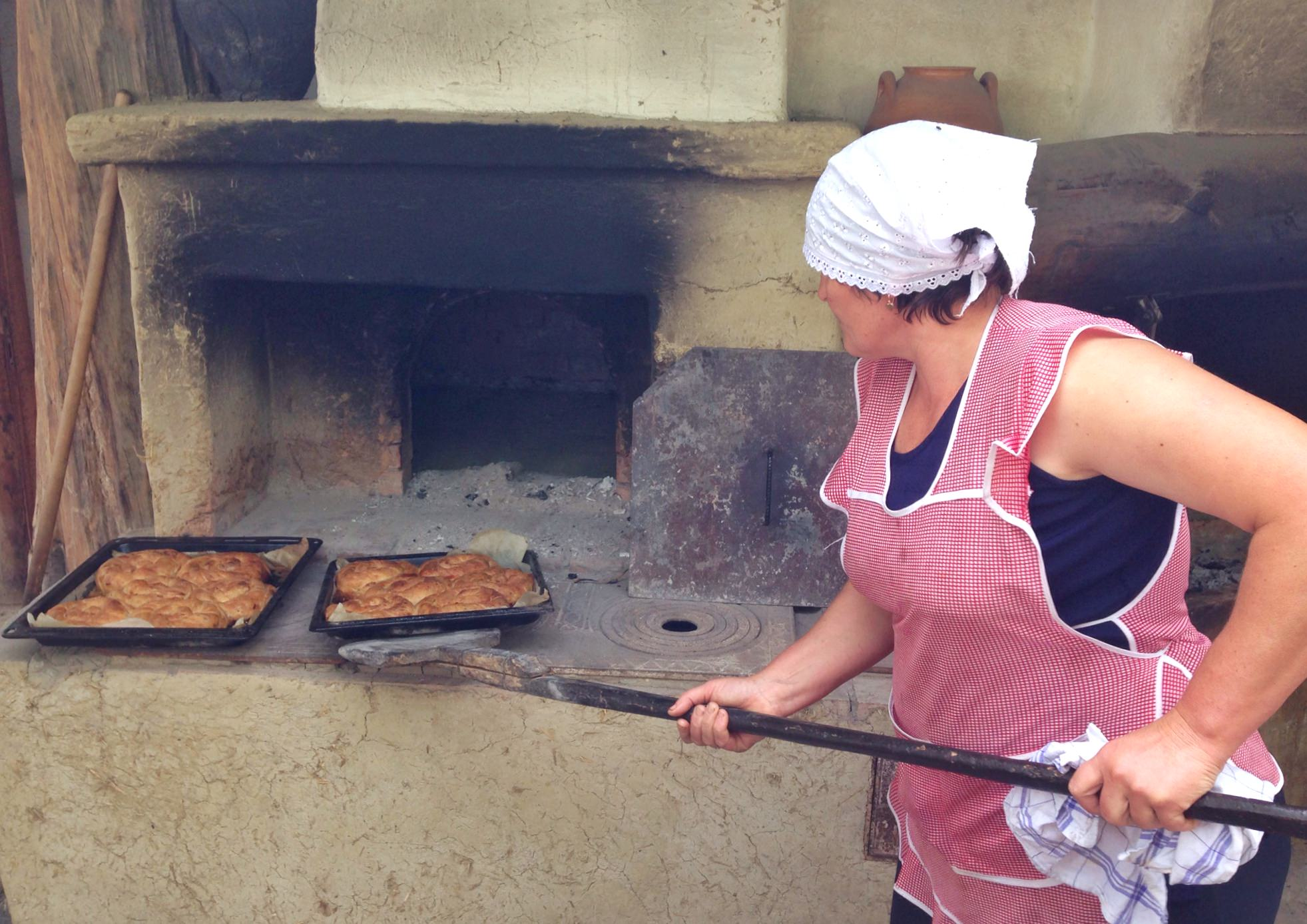 If you stay at Butuceni, you'll have the chance to try your hand at making traditional food.