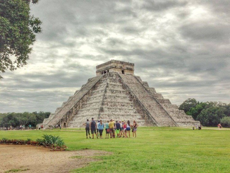 Chichen Itza was pretty impressive.